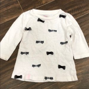 18 Month Crewcuts Collectible Bow Tee